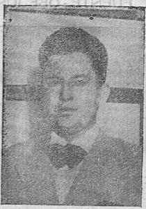 Don Isidoro Hidalgo Trejo, joven y culto abogado,  espíritu dinámico y activo, a cuyo iniciativa se debe el concurso de tiro al pichón.