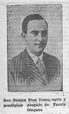 Don Rafael Pino Romo, culto y prestigioso abogado de Fuente Obejuna.