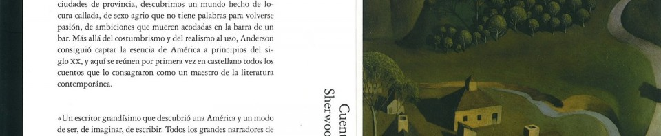 Cuentos reunidos de Sherwood Anderson