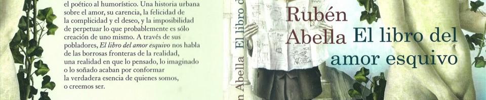 El libro del amor esquivo de Rubén Abella