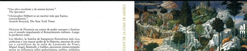 Florencia esplendor y declive de la Casa de Medici de Cristopher Hibbert
