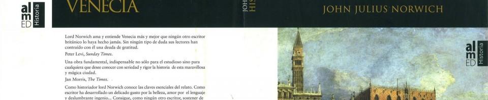 Historia de Venecia de John Julius Norwich