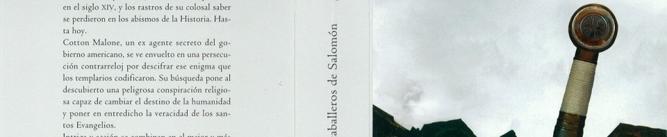 Los caballeros de Salomón de Steve Berry