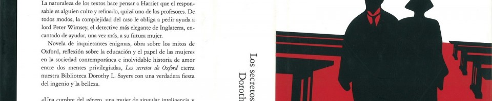 Los secretos de Oxford de Dorothy Leigh Sayers
