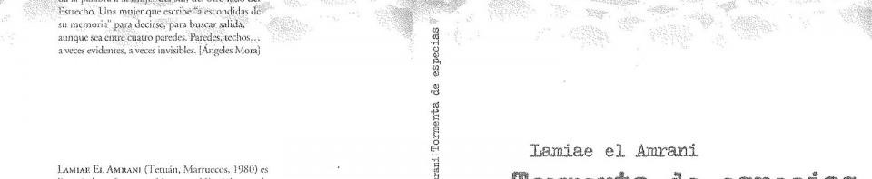 Tormenta de especias de Lamiae el Amrani