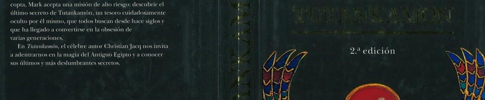 Tutankamón de Christian Jacq