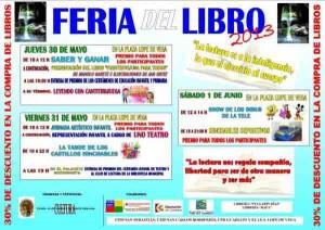 Cartel Feria del Libro