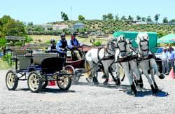 Un momento de la prueba celebrada en Fuente Obejuna