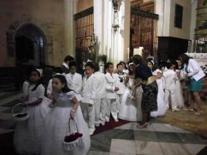 Celebración del Corpus Christi en Fuente Obejuna.