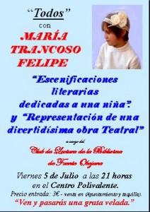 Todos con María Trancoso Felipe