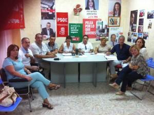 Alcaldes y concejales socialistas Miner del Guadiato