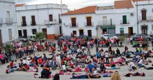 José A. Ruiz, Elisa Lopera e Isabel Cabezas también bailaron la coreografía.