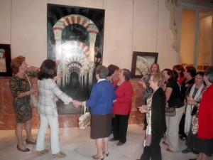 Exposición de pinturas del Carmen del Rey