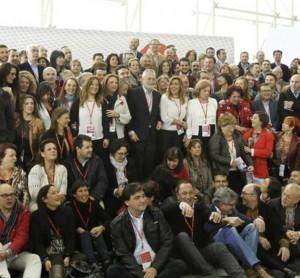 Foto de familia del PSOE de Andalucía