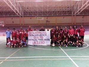 Fútbol contra la Violencia de Género