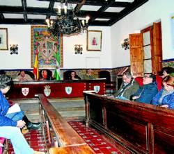 Sesión plenaria en la que fueron aprobadas las cuentas.