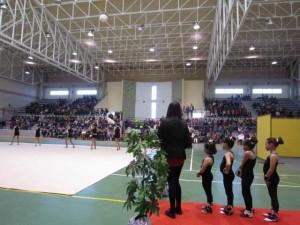 Presentación de las escuelas de Gimnasia Rítmica
