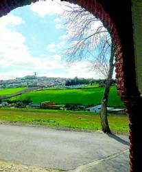 Imagen del casco urbano de Fuente Obejuna.