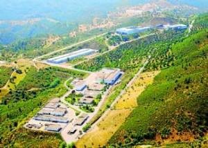 Vista aérea de las instalaciones de El Cabril.  Foto:CORDOBA
