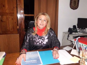 Isabel Cabezas, alcaldesa