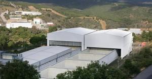 Instalaciones del almacén de residuos de El Cabril.  CÓRDOBA