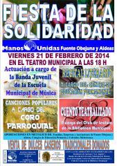 Cartel de la Fiesta de Solidaridad.