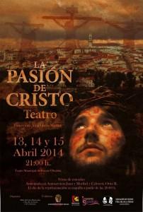 Cartel de La Pasión de Cristo