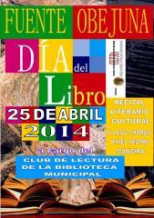 Cartel del Día del Libro 2014