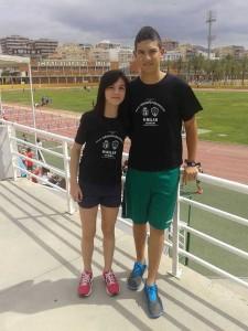 Carlos Sanz junto a Cristina Morera