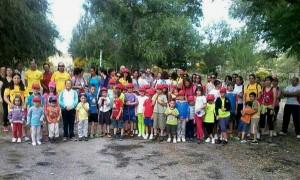Primera jornada de senderismo para niños