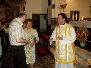 Celebración Eucarística en honor a San Francisco de Padua