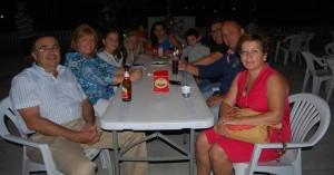 Vecinos que salieron del pueblo hace décadas, en la fiesta del emigrante que se celebró el pasado fin de semana en Fuente Obejuna. - Foto:E.M. HERAS