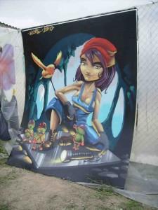 1º Premio Graffiti de las minas