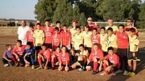 Encuentro deportivo en El Porvenir