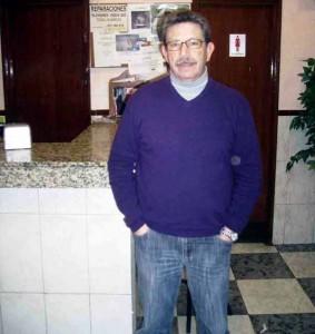 Francisco Garrido, Presidente de la AAVV la Columna