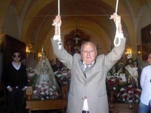 Marcelino Delgado anuncia la salida de la procesión