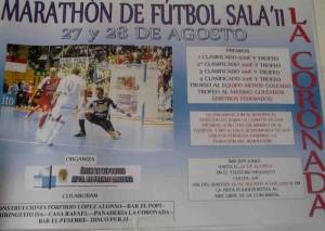 Maratón de fútbol sala en La Coronada
