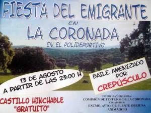 Fiesta del Emigrante en La Coronada