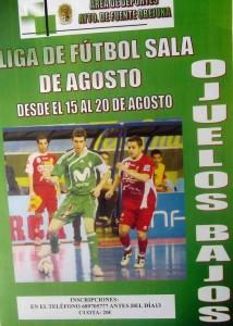 Primera Liga de Fútbol Sala en Ojuelos Bajos