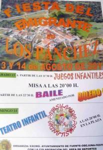 Fiesta del Emigrante en Los Pánchez