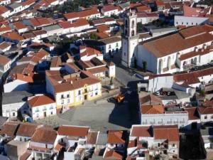 """La alcaldesa y """"sus aldeas"""" (Foto Andrés Monterroso)"""