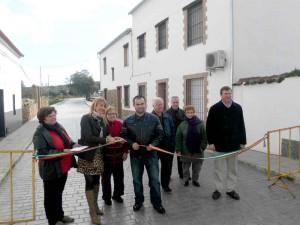 Remodelación del pavimento en Cañada del Gamo