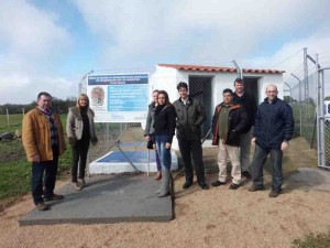 Inauguración depósito de agua