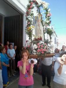 Romería en honor a la Virgen de Fátima