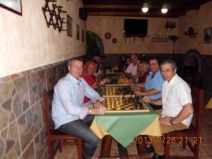 """Torneo de ajedrez en el Mesón """"El Pesebre"""""""