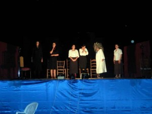 """Grupo de teatro """"Almocafre"""" en Navalcuervo"""