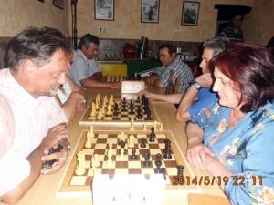 II Torneo de ajedrez del Bar `El Pesebre` en La Coronada