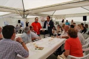 Enrique Garrido dirige el maridaje realizado en Fuente Obejuna