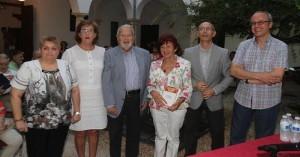 Participantes en 'El verbo en la llaga: Homenaje a Carlos Rivera'. - Foto:ANGEL RODRIGUEZ / RAFA MELLADO