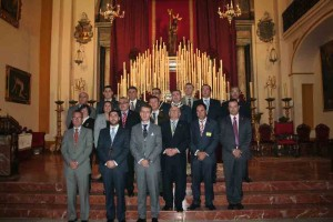 Hermanos Mayores asistentes al Encuentro